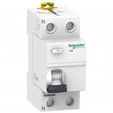 Дифференциальный выключатель iID K 2P 25A 300мА AC, Schneider electric