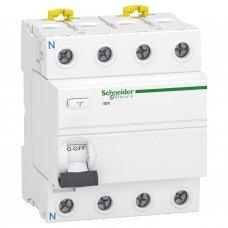 Дифференциальный выключатель iID K 4P 25A 300мА AC, Schneider electric