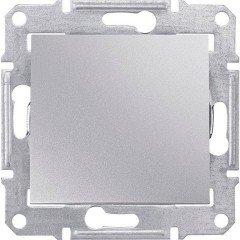 Переключатель 1-клавишный Schneider Electric Sedna, алюминий