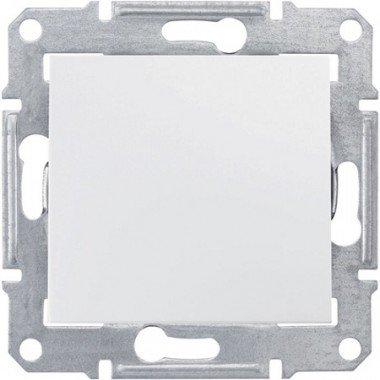 Выключатель 1-клавишный Schneider Electric Sedna, белый - описание, характеристики, отзывы