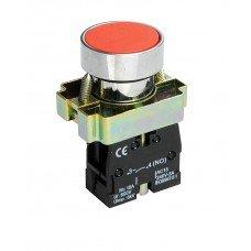 Кнопка TNSy XB2-BA42 1NC без подсветки, красная