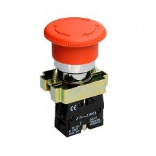 Кнопка-грибок XB2-BS542 1NC аварийный с фиксацией, крутящийся, TNSy