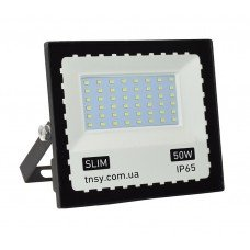 Прожектор LED 50W Ultra Slim 220V 4500Lm 6500K IP65 SMD
