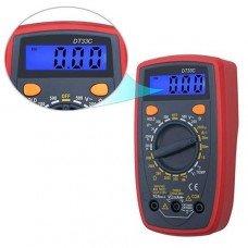 Цифровой мультиметр TCOM DT33C с подсветкой