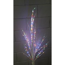 Новогоднее светодиодное дерево береза Multi с контроллером  Ukrled