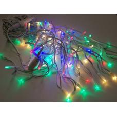 """Уличная новогодняя гирлянда """"Бахрома"""" (RGB) 100 led/5м/бахрома 30см, 40см (20855) Ukrled"""