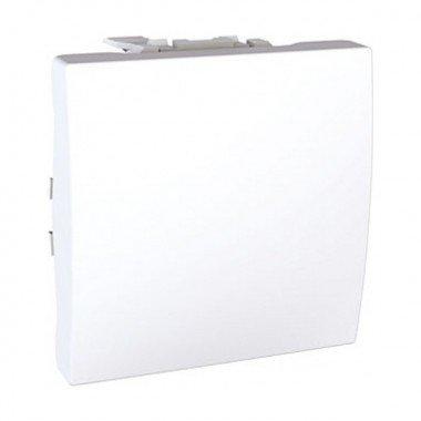 Переключатель 1-клавишный, 2м, Schneider Electric Unica, белый - описание, характеристики, отзывы