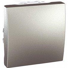 Переключатель 1-клавишный, 2м, Schneider Electric Unica, алюминий