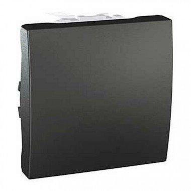 Переключатель 1-клавишный, 2м, Schneider Electric Unica, графит - описание, характеристики, отзывы