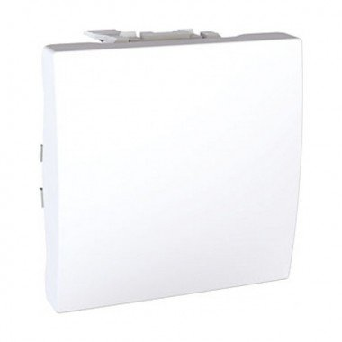 Переключатель 1-клавишный перекрестный, 2м, Schneider Electric Unica, белый - описание, характеристики, отзывы