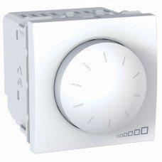Светорегулятор поворотно-нажимной, 2м, Schneider Electric Unica, белый