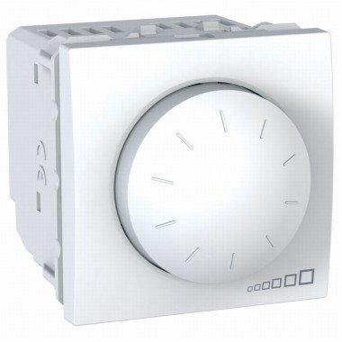 Светорегулятор поворотно-нажимной, 2м, Schneider Electric Unica, белый - описание, характеристики, отзывы