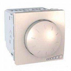 Светорегулятор поворотно-нажимной, 2м, Schneider Electric Unica, слоновая кость