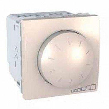 Светорегулятор поворотно-нажимной, 2м, Schneider Electric Unica, слоновая кость - описание, характеристики, отзывы