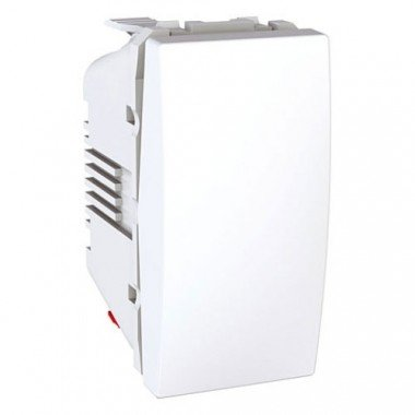 Выключатель 1-клавишный, 1м,  Schneider Electric Unica, белый - описание, характеристики, отзывы