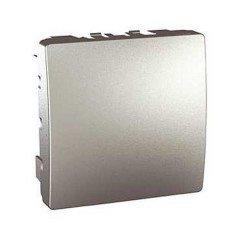 Заглушка 2-модульная Schneider Electric Unica, алюминий