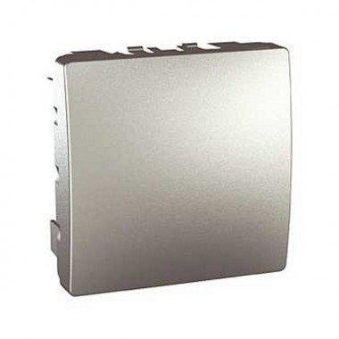 Заглушка 2-модульная Schneider Electric Unica, алюминий - описание, характеристики, отзывы