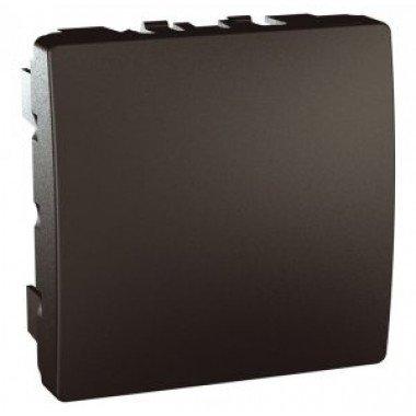 Заглушка 2-модульная Schneider Electric Unica, графит - описание, характеристики, отзывы