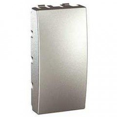 Заглушка 1-модульная Schneider Electric Unica, алюминий