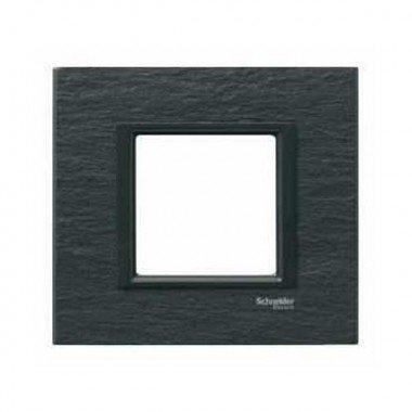 Рамка 1-постовая Schneider Electric Unica CLASS, черный камень (иберийский сланец) - описание, характеристики, отзывы
