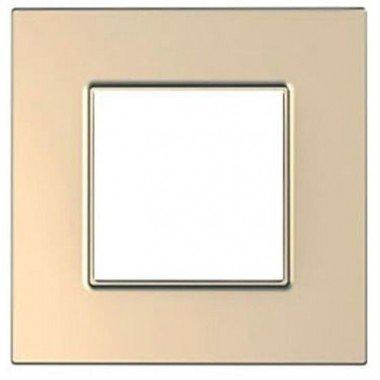 Рамка 1-постовая Schneider Electric Unica Quadro, медь - описание, характеристики, отзывы