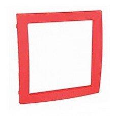 Рамка внутренняя Schneider Electric Unica Colors, красный
