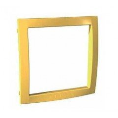 Рамка внутренняя Schneider Electric Unica Colors, жёлтый