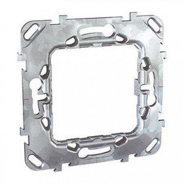 Суппорт металлический 2-модуля, Schneider-Electric Unica - описание, характеристики, отзывы