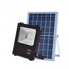 Прожектор с солнечной батареей VARGO 20W с пультом (VS-320) IP66