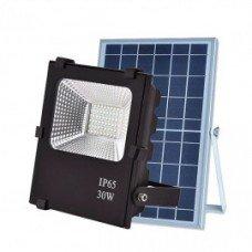 Прожектор с солнечной батареей VARGO 30W с пультом (VS-321) IP66
