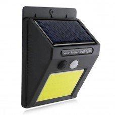 Светильник с солнечной батареей VARGO 5W COB с датчиком движения VS-102091 IP65 черный