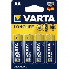 Батарейка VARTA AA LONGLIFE BLI 4 шт