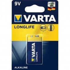 Батарейка VARTA LONGLIFE 6LR61 BLI (крона)