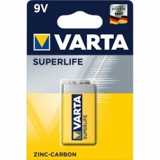Батарейка VARTA SUPERLIFE 6F22 BLI (крона)