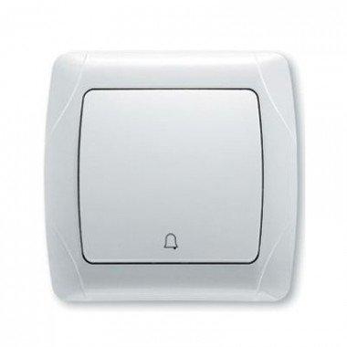 Кнопка звонка ViKO Carmen, белый  - описание, характеристики, отзывы