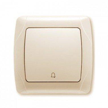 Кнопка звонка с подсветкой ViKO Carmen, крем - описание, характеристики, отзывы