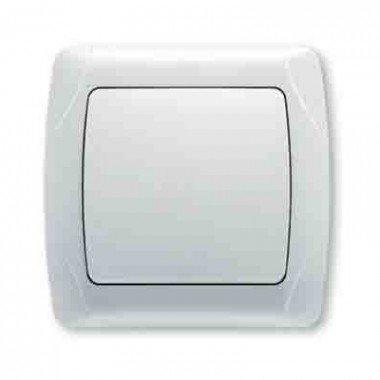 Выключатель 1-клавишный ViKO Carmen, белый  - описание, характеристики, отзывы