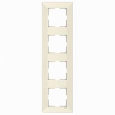Рамка 4-ая вертикальная крем VI-KO MERIDIAN