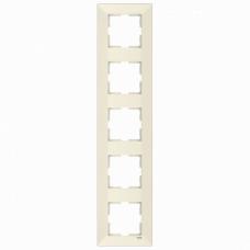 Рамка 5-ая вертикальная крем VI-KO MERIDIAN