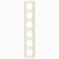 Рамка 6-ая вертикальная крем VI-KO MERIDIAN