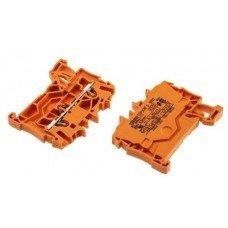 Клемма TOPJOB S 2-контактн. 2,5мм2, оранжевая, Ex (WAGO)