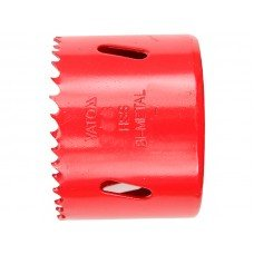 Пила кольцевая би-металлическая YATO D- 67мм (коронка по металлу-дереву) без хвостовика