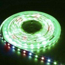 LED лента RGB 12В 14.4Вт 60SMD(5050) LS607  IP65  (5м) FERON
