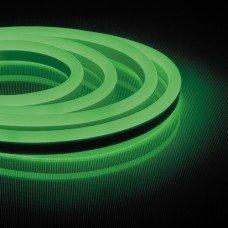 Неоновая светодиодная лента 120SMD(2835)/m 230V 9,6W/m 16*8mm зеленая IP65 LS720 , FERON