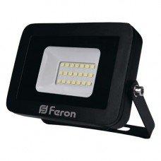 Прожектор LED FERON  LL-851  10W  6400K 230V (111х100х25mm) Черный  IP 65