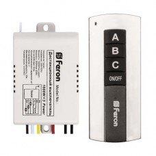 Дистанционный выключатель TM 76   3-канальный 1000W 30м FERON