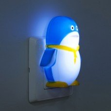 "Светильник ночной FN1001 ""пингвин"" 3LED 0.3W синий"