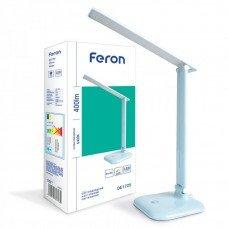 Настольный светильник 30LED 9W голубой  (36*15*15cm) IP20 DE1725 FERON
