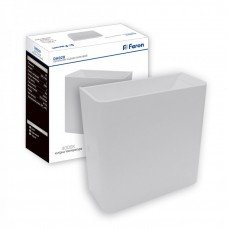 Светильник для архитектурной подсветки DH028 3W  4000К 230V 100Lm  IP54  белый 120*120*50 FERON