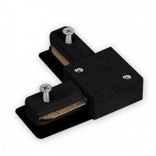 Коннектор угловой для шинопровода однофазного, черный LD1101 FERON